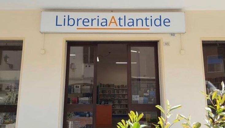 Insegna Libreria Atlantide