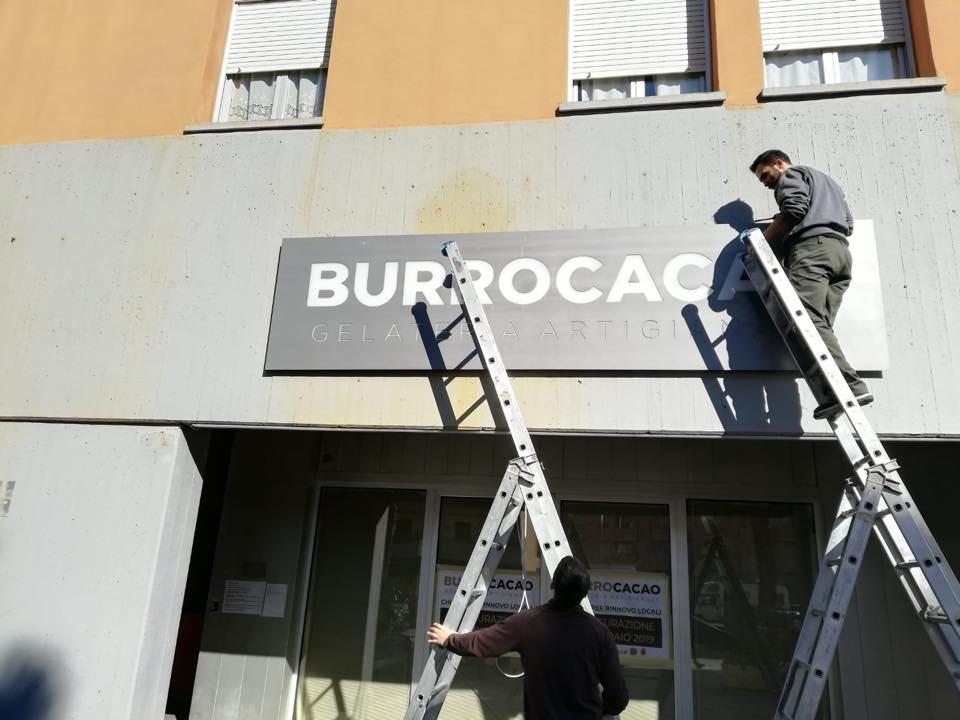 Insegna Burrocacao