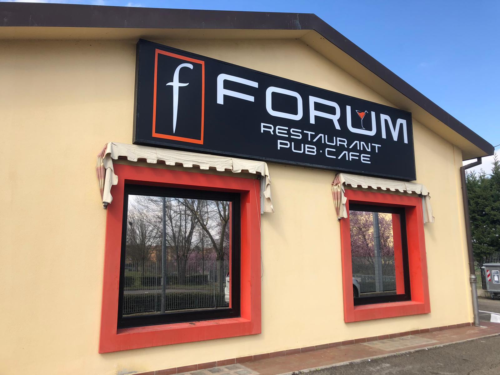Insegna Forum Ristorante