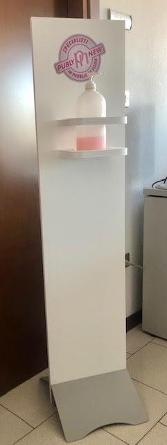 Colonnina con Dispenser